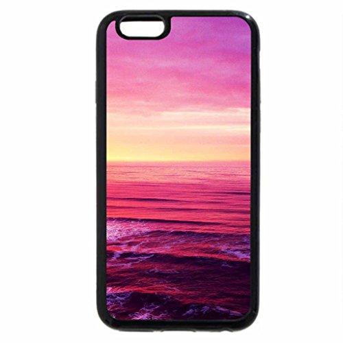 iPhone 6S / iPhone 6 Case (Black) Splendor lighthouse in sunset