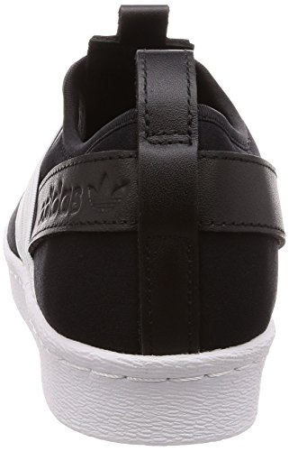 Adidas Noir core Black ftwr De Chaussures ftwr Slip Femme White White W On Gymnastique Superstar pFqpwrf