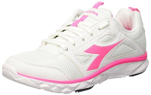 Diadora Hawk 6 W - Zapatillas Mujer Blanco / Rosa