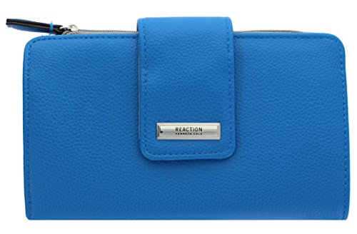 Kenneth Cole Zipper Wallet (Kenneth Cole Reaction Whitney Women's Utility Clutch Wallet (MYKNOS BLUE))