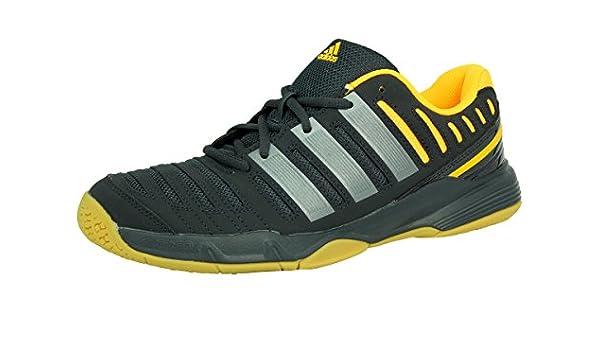Adidas Essence 11 Zapatillas de Balonmano Handball Negro y Naranja ...