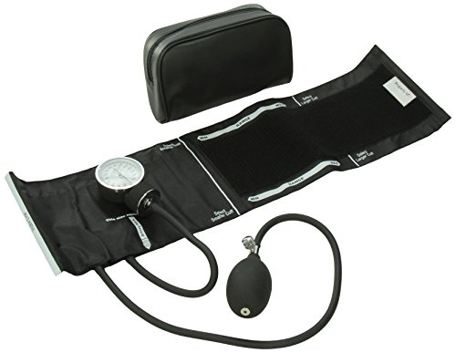 Standard Aneroid - ADC 760-11ABK  Prosphyg 760 Pocket Aneroid Sphygmomanometer with Adcuff Nylon Blood Pressure Cuff, Adult, Black