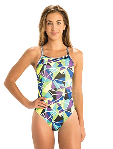 Dolfin Uglies V-2 Back Swimsuit Womens Rock Candy Size 34