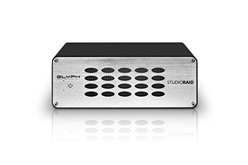 (Glyph Studio RAID SR20000 20TB External Hard Drive RAID 0, 1 or JBOD (7200RPM, USB 3, FW800 or eSATA))