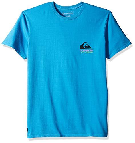 Quiksilver Pop - Quiksilver Men's SURF Fast Short Sleeve, pop Blue M