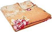 Manta Solteiro 200G Cassie Cor/Fleece 2,2x1,6 m, Realce, 100% Poliéster, Estampa