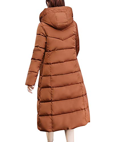 Winter Long Imbottito Marrone Addensato Capispalla Shaoyao Warm Down Parka Coat Women Jacket Overcoat HXwxqzp