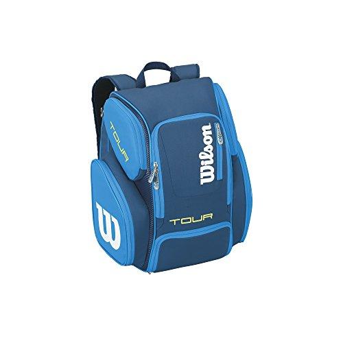 Wilson Tour V Juice Backpack, Blue, Large