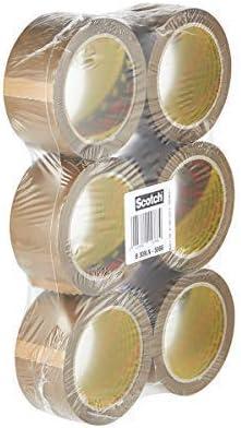 48mm x 66m-GIORNO DOPO!!! 72 Rotoli Di Forte Pacco Marrone scatola d/'imballaggio nastro stikky