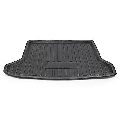 Mallofusa Cargo Liner Rear Cargo Tray Trunk Floor Mat Compatible for Honda HR-V Honda VEZEL 2014 2015 2016 2020 2020 Black: Automotive