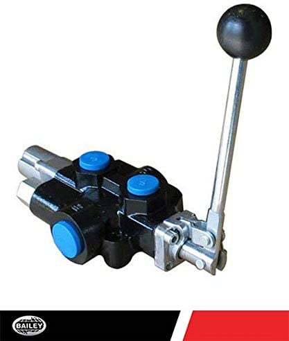 18 GPM 3625 PSI 220997 Chief Compact Log Splitter Valve: 1 Spool 3//4 NPT Inlet//Outlet Ports and 1//2 NPT Work Ports 4-Way 3-Position Spring Center Handle Detent: Away from Valve