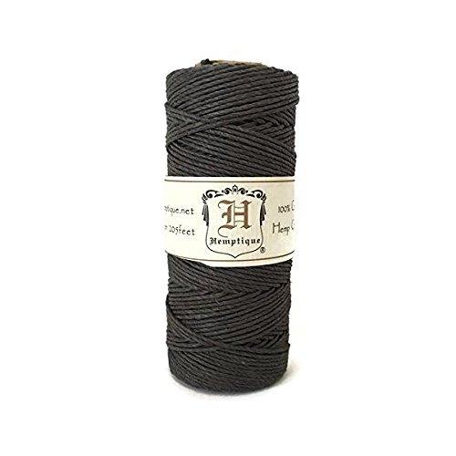 Hemp-Cord-Spool-20-205-Feet-Dark-Gray