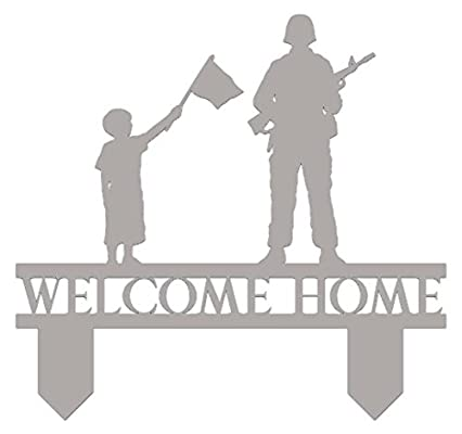 amazon com welcome home cake topper military cake topper uniform