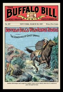 The Buffalo Bill Stories: Buffalo Bill's Wild Range Riders Fine art canvas print (20