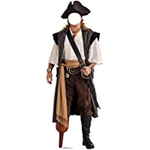 Pirate Peg Leg Stand-In - Advanced Graphics Life Size Cardboard Standup