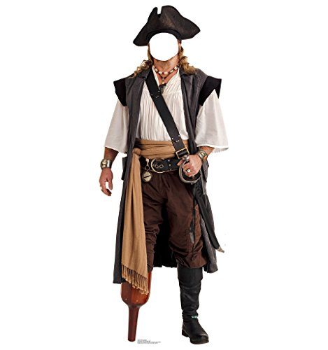 Pirate Peg Leg Stand-In - Advanced Graphics Life Size Cardboard - To How Booth Photo Own Your Make Props