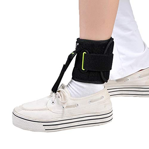 Adjustable Foot Drop Ankle Brace AFO Day Time Pain Relief Ober Foot-Up Splint Device Achilles Tendinitis Ankle Joint Dropfoot Orthosis AO-28