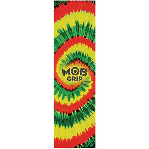 Mob Grip Rasta Tie Dye Grip Tape - 9 x 33 by Mob Grip