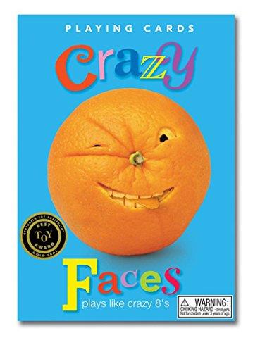 Faces Crazy - eeBoo Crazy Faces Card Game for Kids