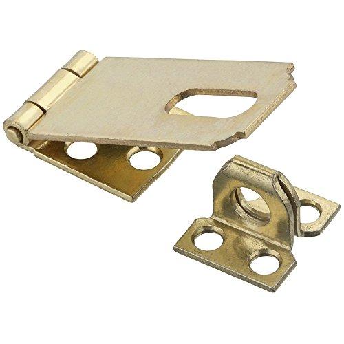 (National Hardware N102-178 V30 Safety Hasp in Brass)