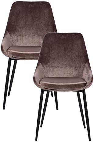 Kare East Side Sand - Juego de 2 sillas (tamaño único), Color ...
