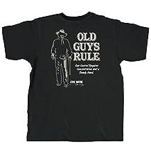 Old Guys Rule Men's Gun Control Tee