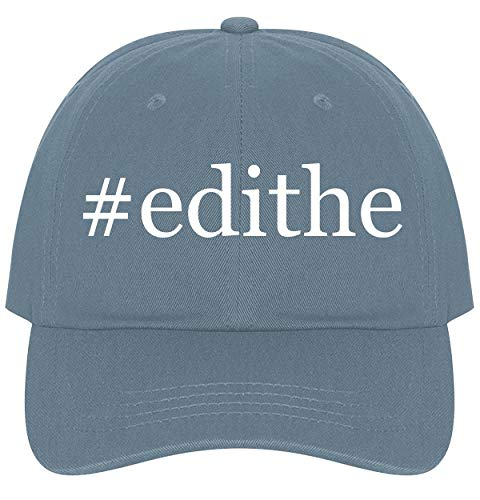 (The Town Butler #Edithe - A Nice Comfortable Adjustable Hashtag Dad Hat Cap, Light Blue)