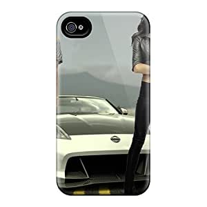 Iphone 4/4s Hard Back With Bumper Silicone Gel Tpu Case Cover Irina Shayk Chrissy Teigen