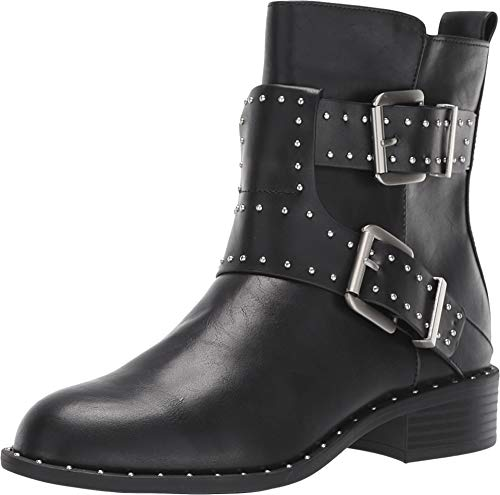 Charles by Charles David Tupper Moto Boot Black Smooth 7