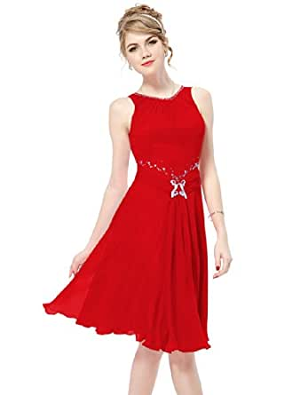 HE05050RD08, Red2, 6US, Ever Pretty Ladies Dresses Size 6 05050
