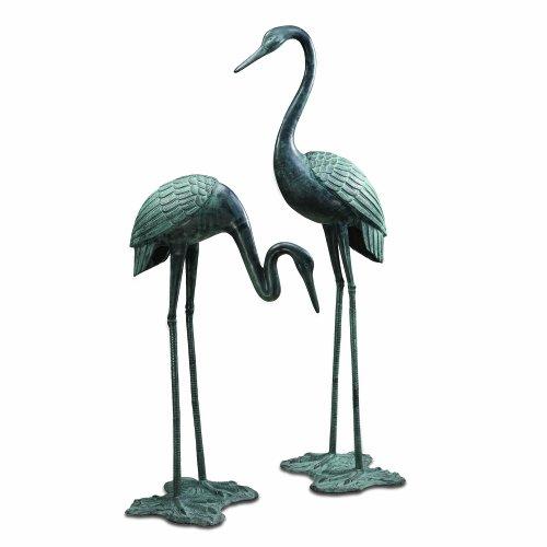 - SPI Home 33242 Large Garden Crane Pair Sculpture