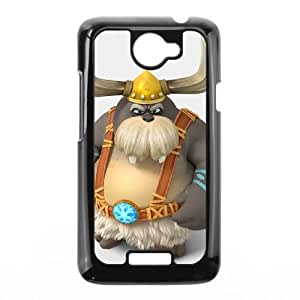 HTC One X Cell Phone Case Black Donkey Kong Country Tropical Freeze OJ404071