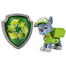 Nickelodeon, Paw Patrol - Action Pack Pup & Badge - Rocky