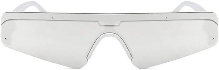 ZYJ Women Occhiali da Sole Cat Eye Occhiali da Sole Donna Maschile Specchio Sport Occhiali da Sole Siamesi Occhiali da Sole da Donna UV400 4