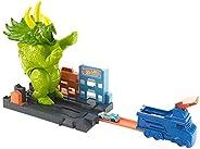 Hot Wheels City Triceratops Destructor , Vehículo, Autos de Juguete, Set de Juego, Edad: 3+, GBF97