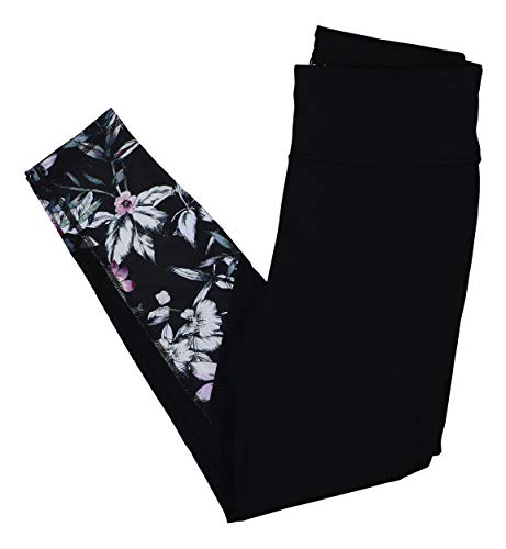 Ideology Women's Printed Ankle Leggings (Noir, Small) from Ideology