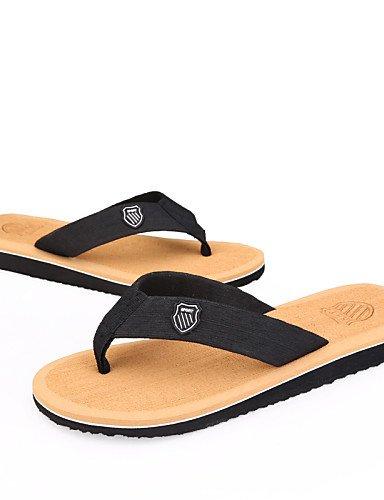 Cotton us8 Brown Flip Gray uk7 Black Flops Men's black Outdoor Shoes cn41 Casual eu40 NTX 8wIPRwq