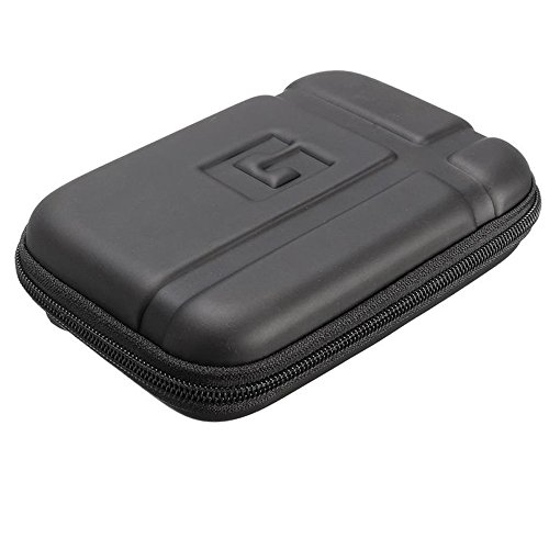 "Ivbuy Water Proof 5"" Inch Hard Carrying Travel Case Cover Pouch For 5"" 5.1"" 5.2"" TomTom Garmin Nuvi 2597LMT 55LM 2557LMT 2555LMT 2595LMT 55LMT 52LM Magellan RoadMate GPS Units other Small Devices"
