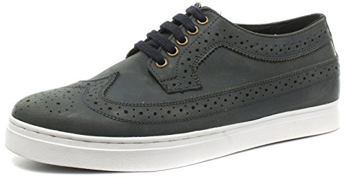 Brinders Alex Hommes Lacets Brogue Chaussures Océan Buff Fou Cheval