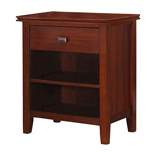 Simpli Home Artisan Bedroom Dresser And Media Cabinet Medium Auburn Brown Standard 11street