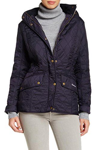 Barbour Women's Pantone Chromatics Quilt Jacket, Black, 8 UK/4 US