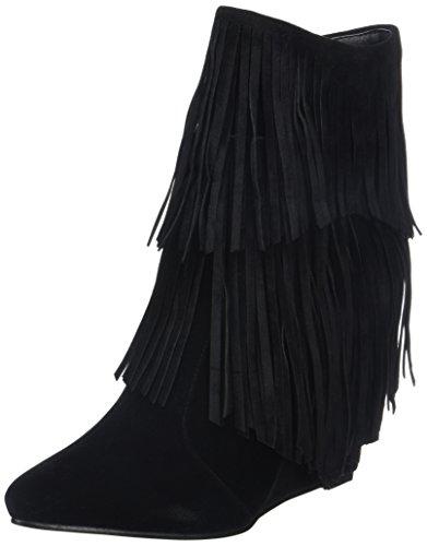 Molly Bracken Bottines Black Boots Classiques Femme Noir SpBwSqrn