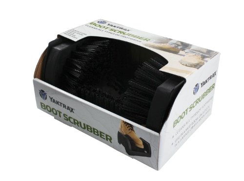 Yaktrax Boot Scrubber Boot and Shoe Scraper Brush