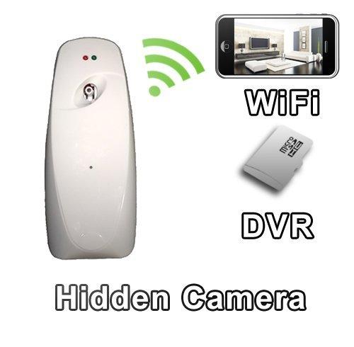 palmvid WiFi Lite ambientador cámara oculta cámara espía con Live transmisión de vídeo