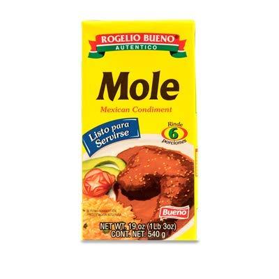 Rogelio Bueno – Mole – Mexicaanse Seasoning – Klaar om te serveren – 6 porties – Ideaal voor Vlees en Kip – 540 gram…