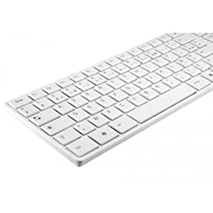 MOBILITY LAB Clavier Design Touch USB - blanc