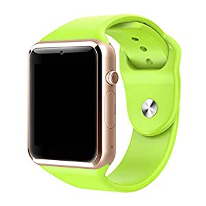2016Nueva Q8Smart Watch Q8con tarjeta SIM Fitbit Bluetooth llamada Recordatorio Smart Watch Smart Phone F š ¹ r Android