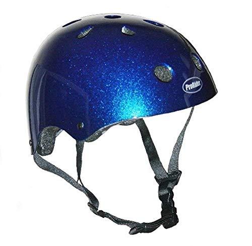 Pro-Rider Classic Bike & Skate Helmet (Blue, Large/X-Large) -