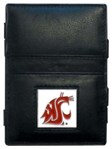 Siskiyou NCAA Washington State Cougars Leather Jacob's Ladder ()