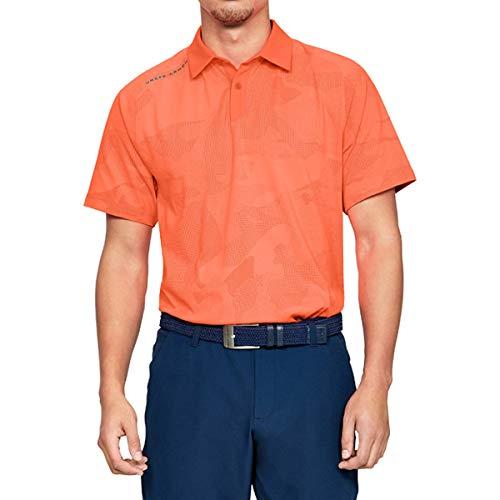 UNDER ARMOUR(アンダーアーマー) メンズ ゴルフ ポロシャツ スレッドボーン スプロケットポロ 1317331